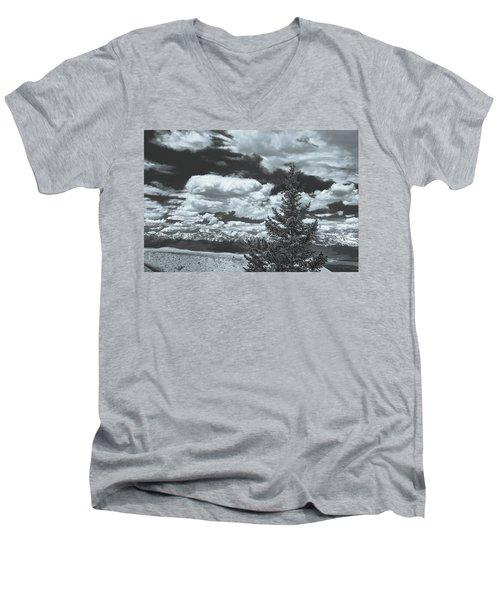 When Silence Speaks For Love, She Has Much To Say, Wrote Richard Garnett.  Men's V-Neck T-Shirt