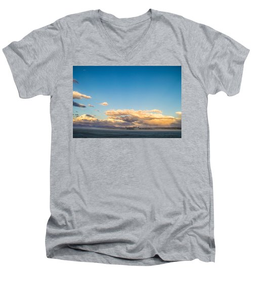 When The Sun Goes Down Men's V-Neck T-Shirt