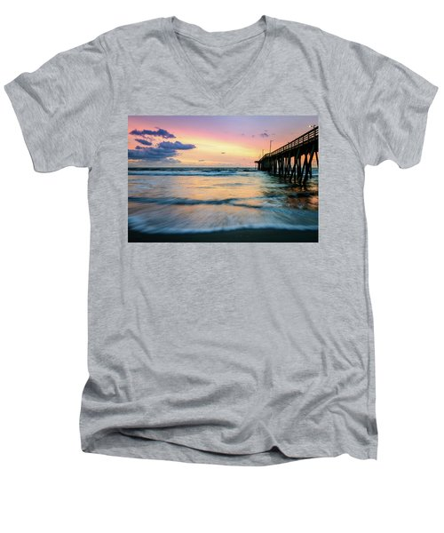 When The Tides Return Men's V-Neck T-Shirt