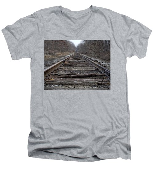 Where Are You Going? Men's V-Neck T-Shirt