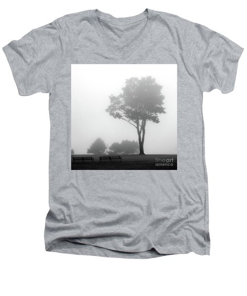 Men's V-Neck T-Shirt featuring the photograph Where Do I Go When It's Gone by Dana DiPasquale