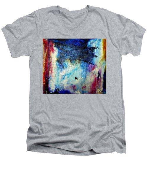 Where Does The Time Go Men's V-Neck T-Shirt