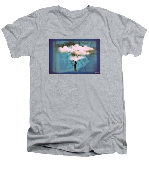 Where Dreams Are Born Men's V-Neck T-Shirt by Paulo Zerbato