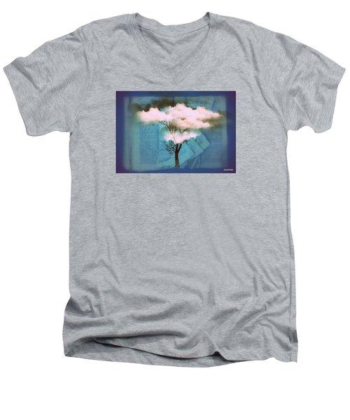 Where Dreams Are Born Men's V-Neck T-Shirt