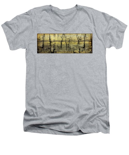 Where Is The Boat Men's V-Neck T-Shirt by Sherman Perry