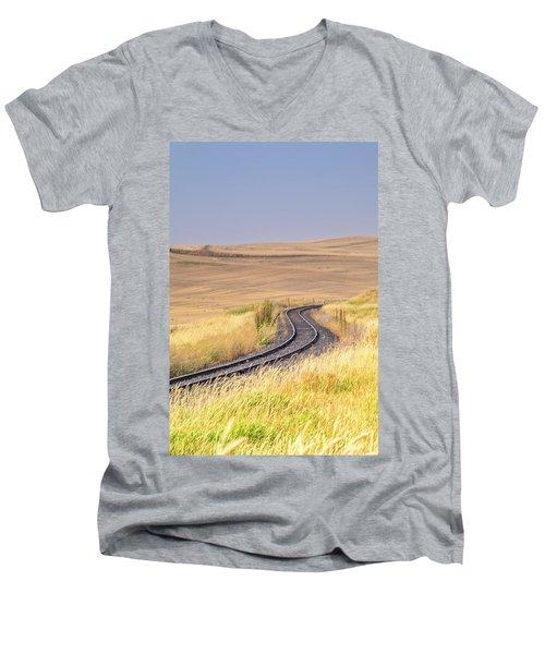 Where To? Men's V-Neck T-Shirt