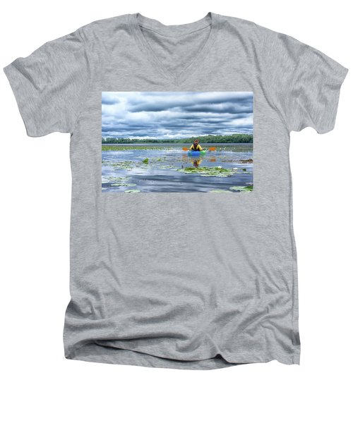 Where We Belong Men's V-Neck T-Shirt