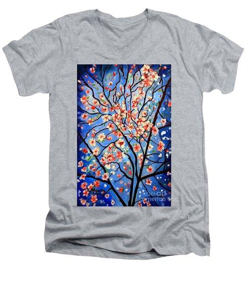Whimsical Men's V-Neck T-Shirt