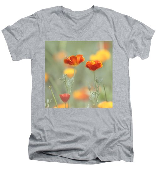 Whimsical Summer Men's V-Neck T-Shirt