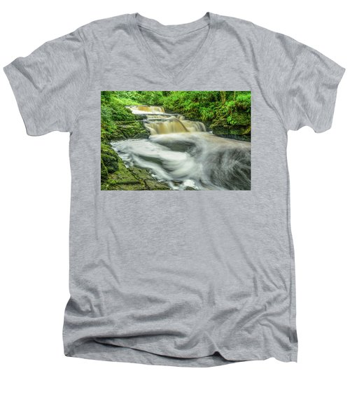Whirls 'n Swirls  Men's V-Neck T-Shirt