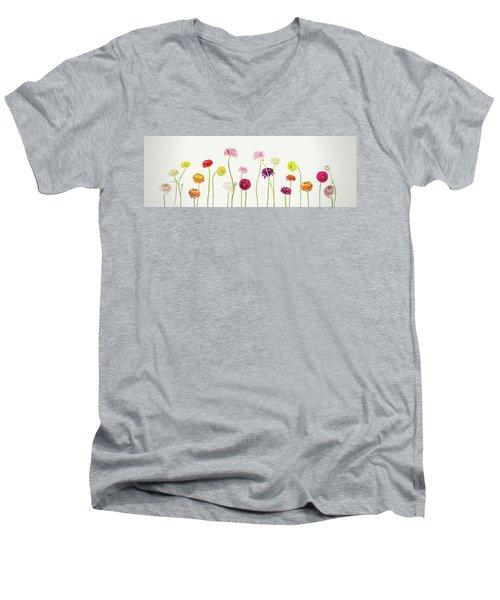 Whispering Spring Men's V-Neck T-Shirt