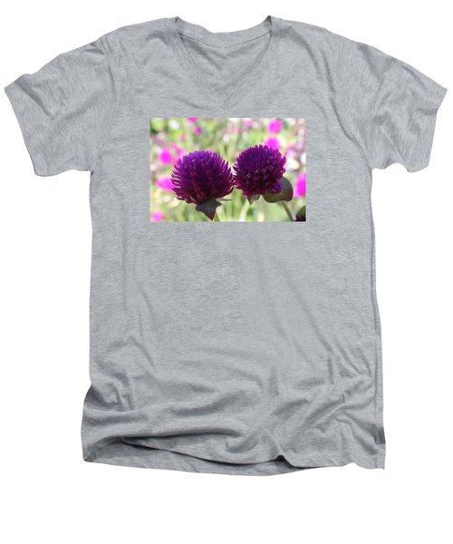 Whispers Men's V-Neck T-Shirt