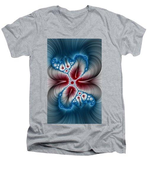 Whispers Phone Case Men's V-Neck T-Shirt