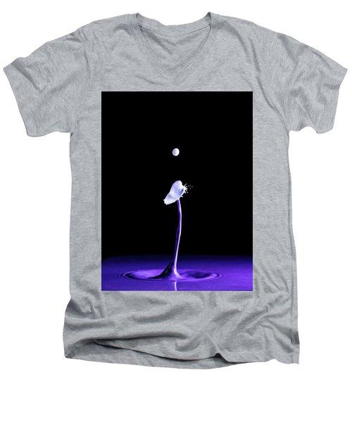 White Cap Men's V-Neck T-Shirt