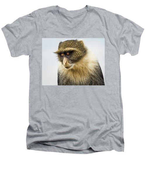 White Collar Mischief Men's V-Neck T-Shirt