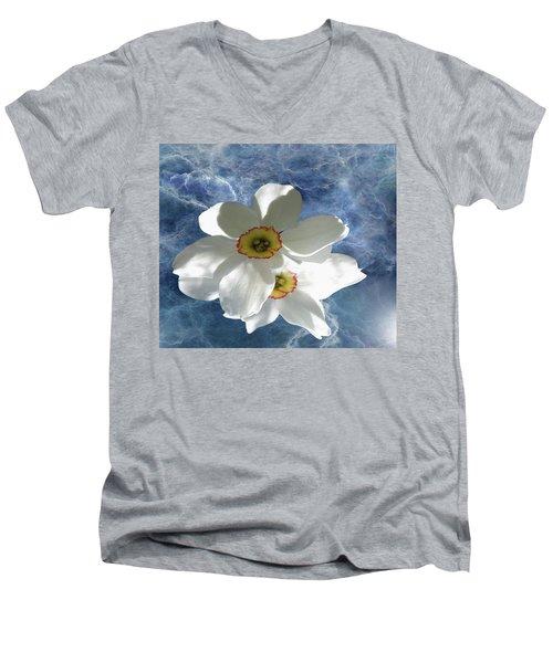 White Lightning Men's V-Neck T-Shirt
