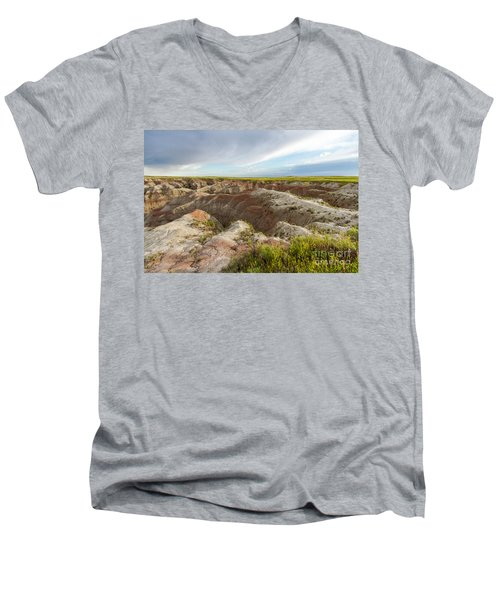 White River Valley Men's V-Neck T-Shirt