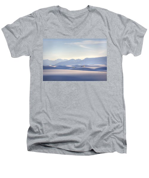 White Sands Blue Sky Men's V-Neck T-Shirt