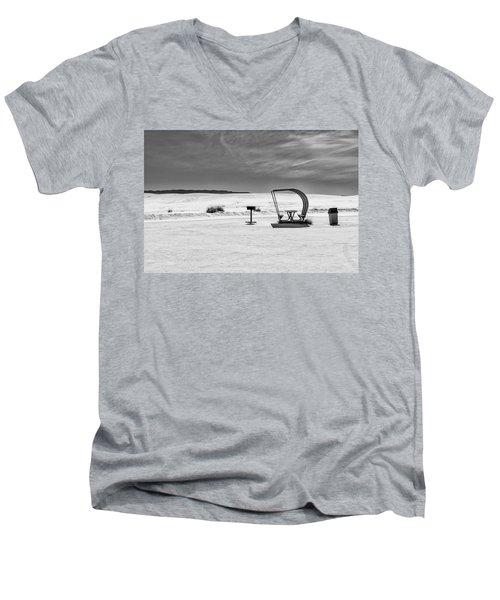 White Sands National Monument #9 Men's V-Neck T-Shirt