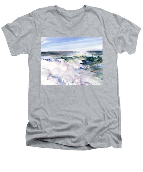 White Water Men's V-Neck T-Shirt