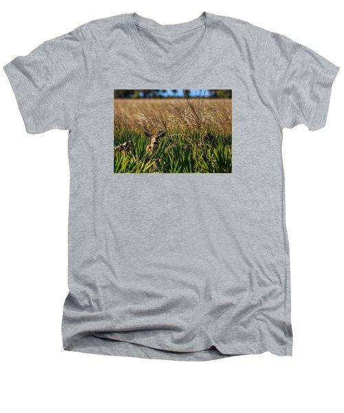 Whitetail Men's V-Neck T-Shirt