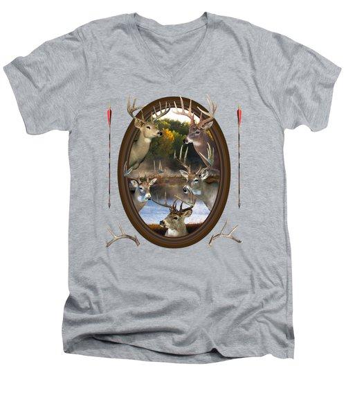 Whitetail Dreams Men's V-Neck T-Shirt