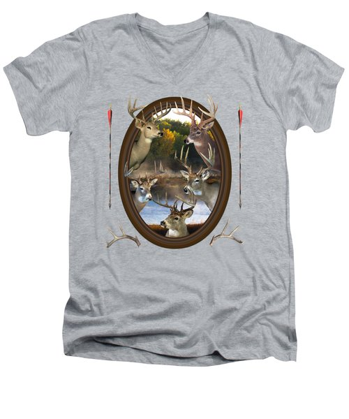 Whitetail Dreams Men's V-Neck T-Shirt