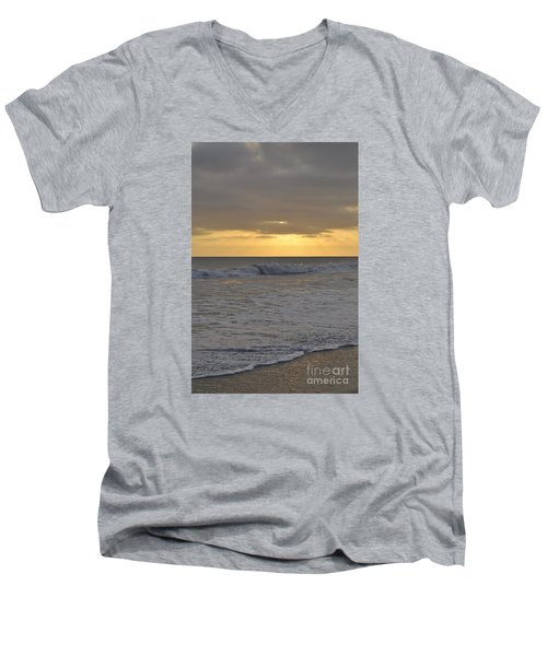 Whitewash Men's V-Neck T-Shirt