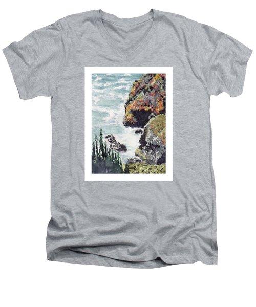 Whitewater Coast Men's V-Neck T-Shirt