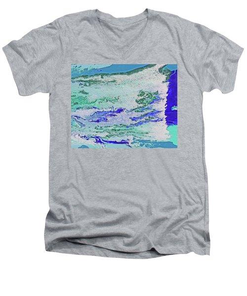 Whitewater Men's V-Neck T-Shirt
