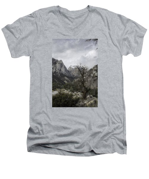 Whitney Portal Men's V-Neck T-Shirt