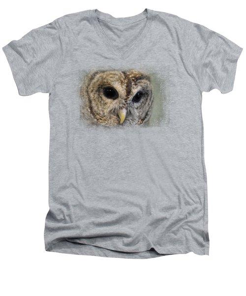 Who Loves Ya Baby? Men's V-Neck T-Shirt by Jai Johnson