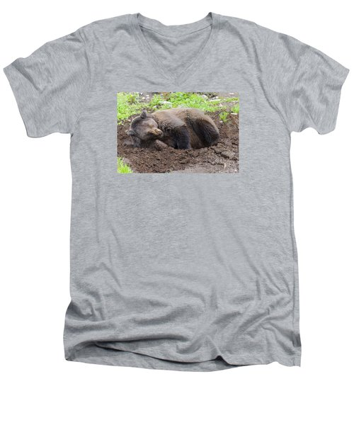 Whose Making Noise Men's V-Neck T-Shirt