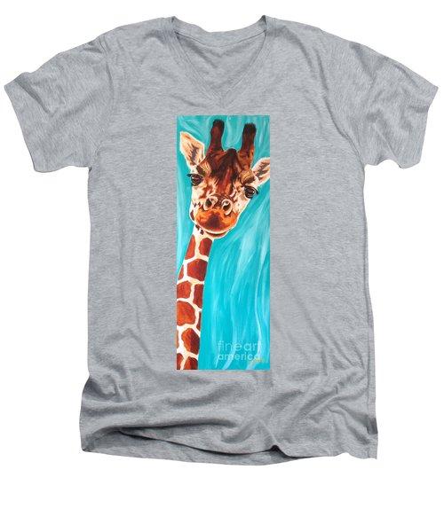 Why Hello Men's V-Neck T-Shirt