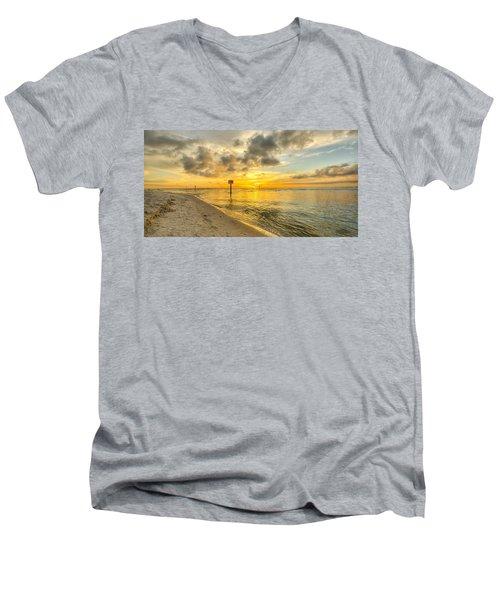 Wiggins Pass State Park Men's V-Neck T-Shirt