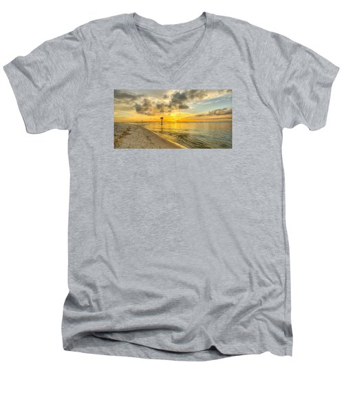 Wiggins Pass State Park Men's V-Neck T-Shirt
