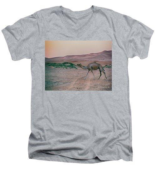 Wild Camel Men's V-Neck T-Shirt