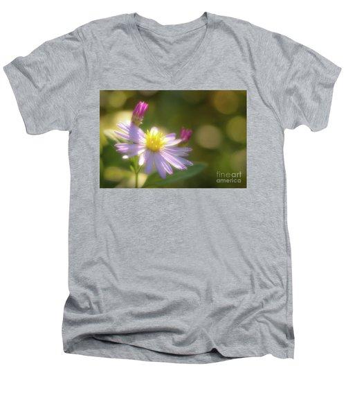 Wild Chrysanthemum Men's V-Neck T-Shirt