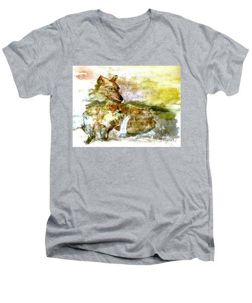 Wild Country Wolf Men's V-Neck T-Shirt