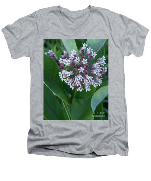 Wild Flower Star Burst Men's V-Neck T-Shirt
