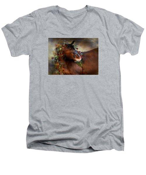 Wild Flowers Men's V-Neck T-Shirt