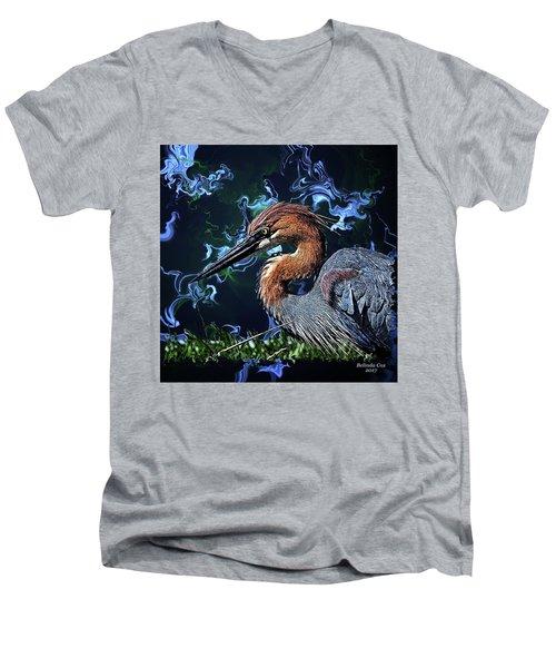 Wild Goliath Herona Men's V-Neck T-Shirt