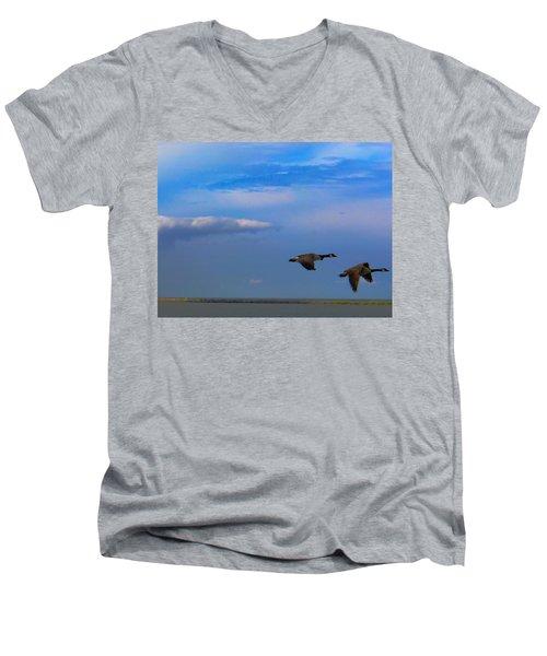 Wild Goose Chase Men's V-Neck T-Shirt
