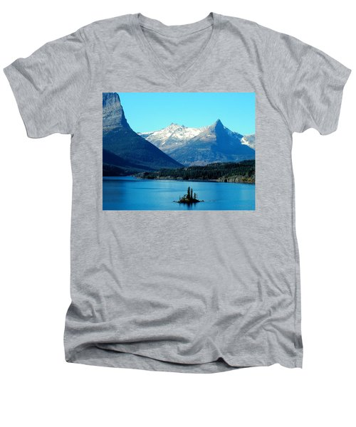 Wild Goose Island Men's V-Neck T-Shirt