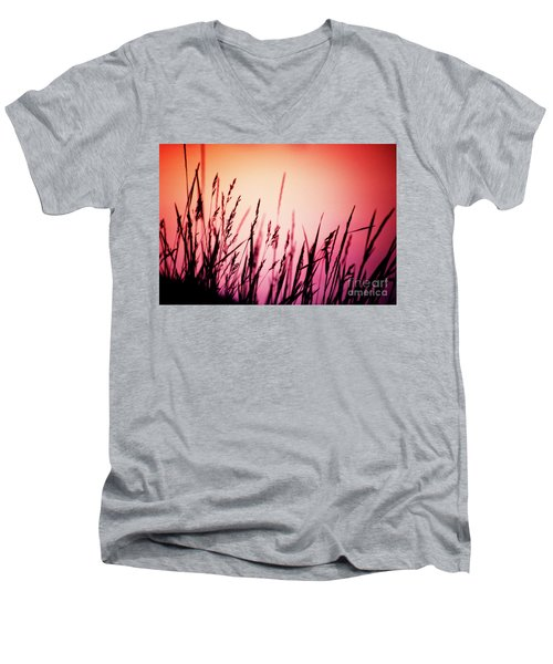 Wild Grasses Men's V-Neck T-Shirt