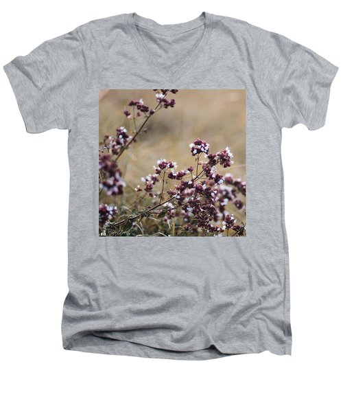 Wild Herbs  #herbs Men's V-Neck T-Shirt
