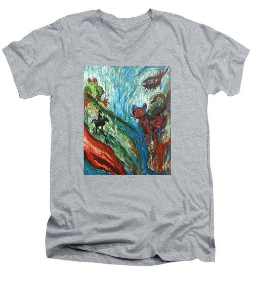 Wild Periscope Collaboration Men's V-Neck T-Shirt