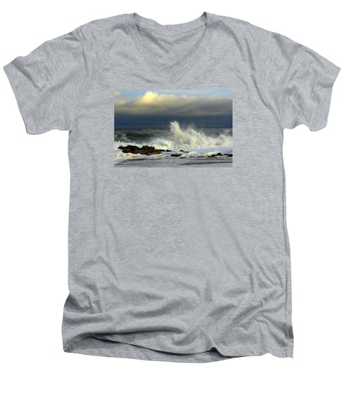 Wild Waves Men's V-Neck T-Shirt