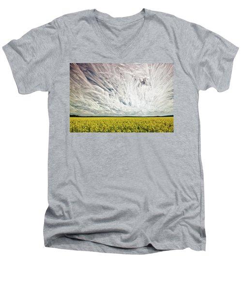 Wild Winds Men's V-Neck T-Shirt