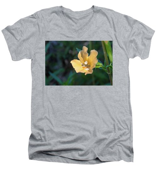 Wilderness Flower 2 Men's V-Neck T-Shirt
